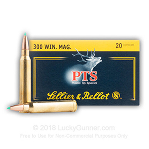 Sellier&Bellot PTS 11.7g 300Winmag