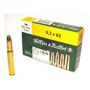 Sellier&Bellot SP 18.5g 9.3x62