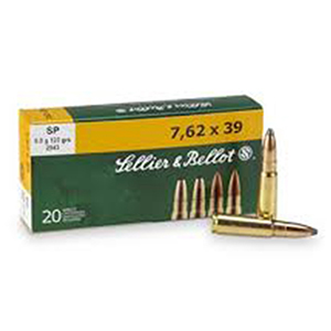 Sellier&Bellot SP 8.0g 7.62x39