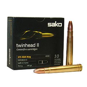 SAKO TWINHEAD II 19.4g 375H&H Mag